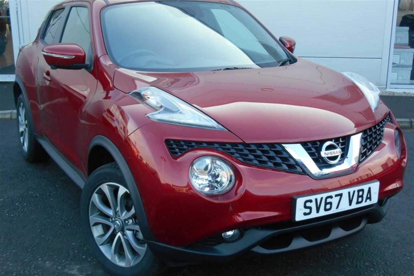 Nissan Juke │Red│for Sale in Aberdeen│Nissan Used Cars UK MDX-HKBMYP2