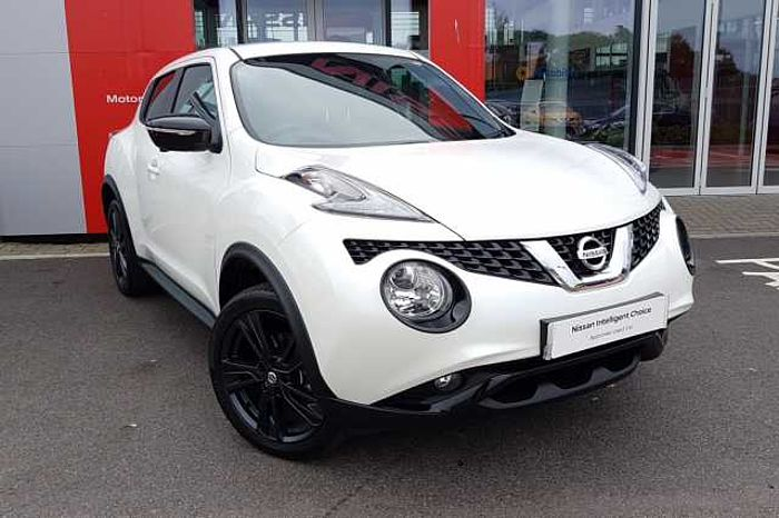 Nissan Juke 1.5 dCi Tekna Pulse 5-Door Hatchback White