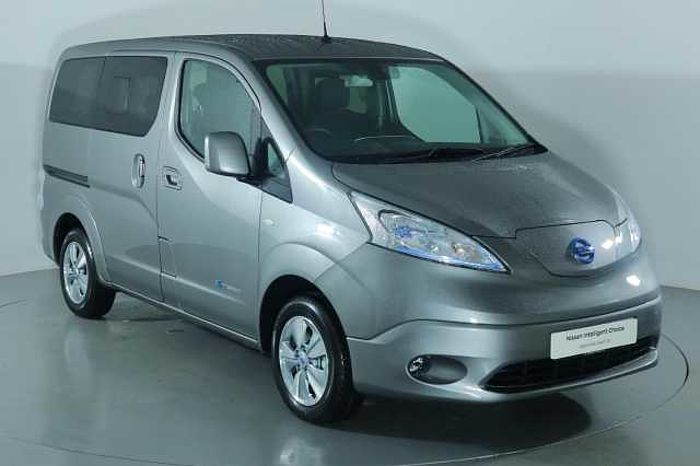 Nissan e-NV200 Combi 40KW Evalia Auto with 5 Seats and Heat Pack Twilight Grey