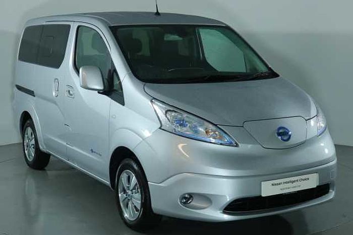 Nissan e-NV200 Combi 40KW Evalia Auto with 5 Seats and Heat Pack Silver