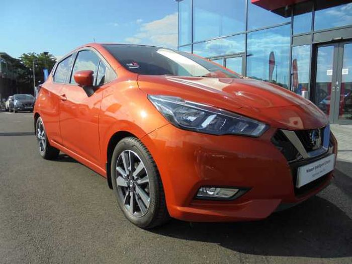 Nissan MICRA HATCHBACK (ALL NEW) 1.5dCi 90 N-Connecta Energy Orange Metallic