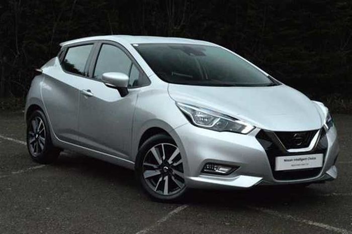 Nissan MICRA HATCHBACK (ALL NEW) 1.5dCi 90 Acenta Silver