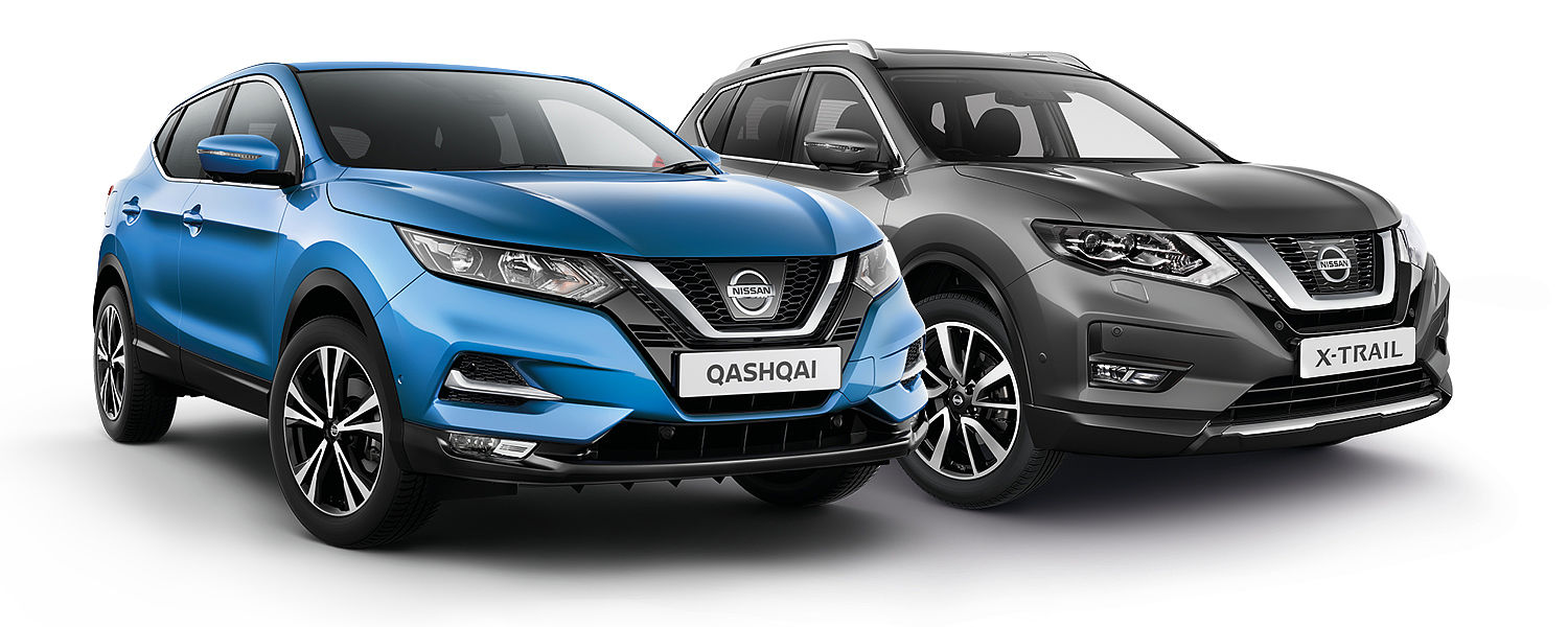 Homepage main hero header image_Qashqai & X-Trail
