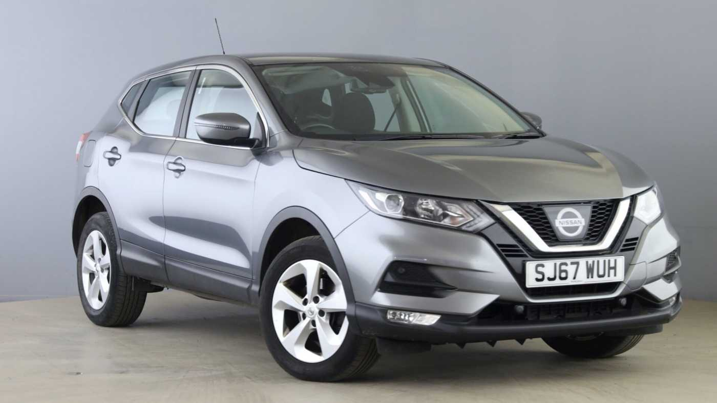 Nissan Qashqai Grey For Sale In Nissan Used Cars Uk Mdx Qxcd2xd