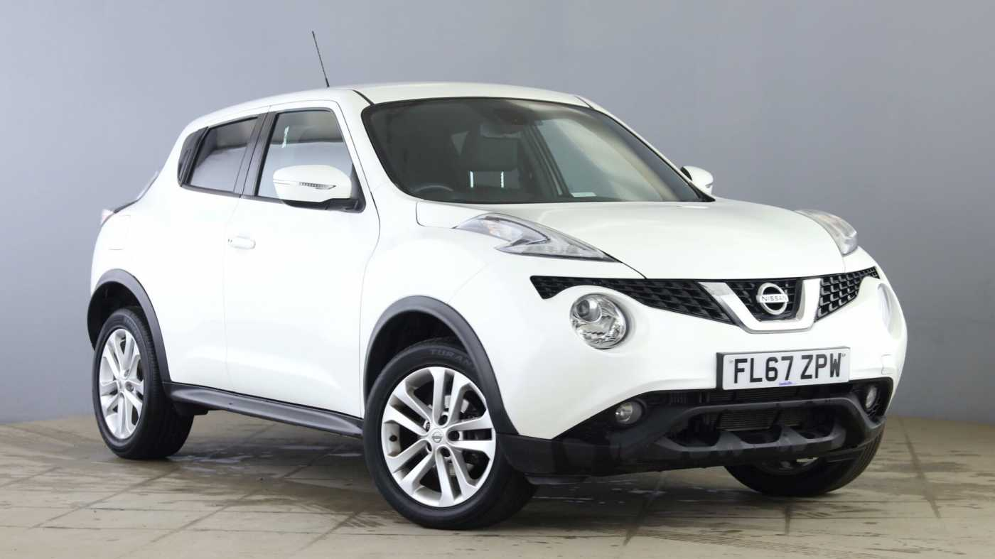 Nissan Juke White For Sale In Nissan Used Cars Uk Mdx Qxcfkmn