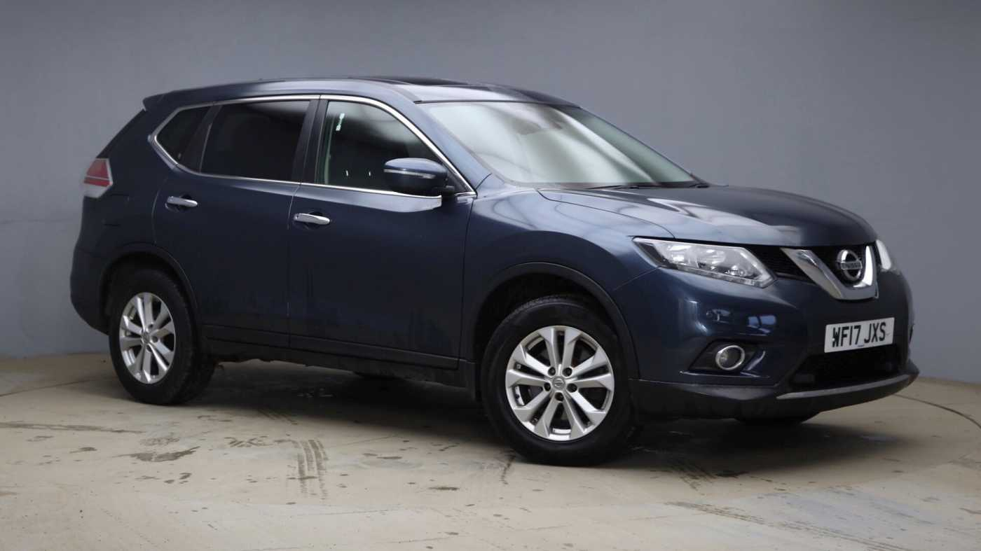 Nissan X Trail Blue For Sale In Nissan Used Cars Uk Mdx T7cf2cz