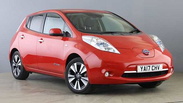 Nissan Leaf 80kW Tekna 30kWh 5dr Auto Red