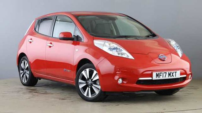 Nissan Leaf 80kW Tekna 30kWh 5dr Auto [6.6kW Charger] Red
