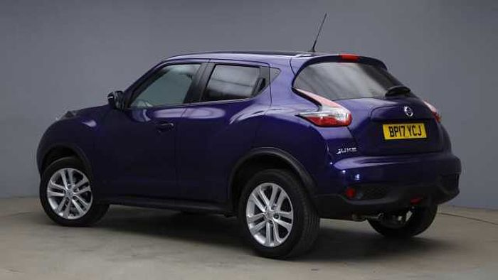 Nissan Juke 1.2 DIG-T N-Connecta SUV 5dr Petrol (s/s) (115 ps) Blue